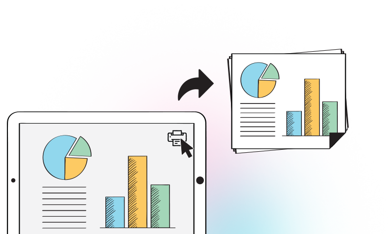 Exporting charts in multiple formats